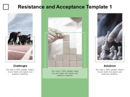 Resistance And Acceptance Template Solutions Ppt Powerpoint Presentation Infographics Display