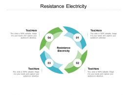 Resistance Electricity Ppt Powerpoint Presentation Outline Guidelines Cpb