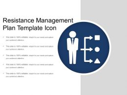 Resistance Management Plan Template Icon