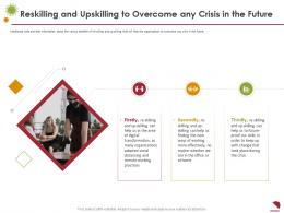 Reskilling And Upskilling To Overcome Any Crisis In The Future Working Ppt Demonstration