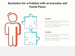 Resolution For A Problem With An Executive And Puzzle Pieces