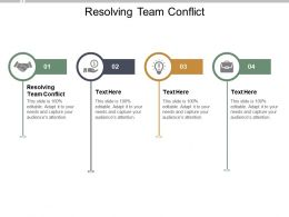 Resolving Team Conflict Ppt Powerpoint Presentation File Inspiration Cpb