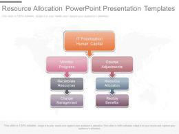 Resource Allocation Powerpoint Presentation Templates