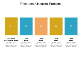 Resource Allocation Problem Ppt Powerpoint Presentation Layouts Show Cpb