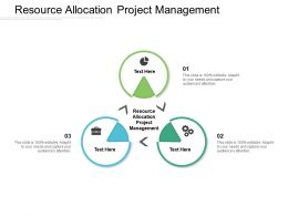 Resource Allocation Project Management Ppt Powerpoint Portfolio Cpb