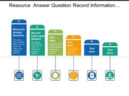 Resource Answer Question Record Information Medical Communicate Colleague
