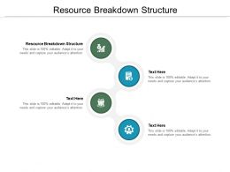 Resource Breakdown Structure Ppt Powerpoint Presentation Inspiration Visual Aids Cpb