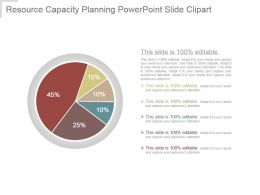 Resource Capacity Planning Powerpoint Slide Clipart