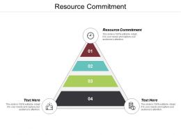 Resource Commitment Ppt Powerpoint Presentation Ideas Layout Cpb