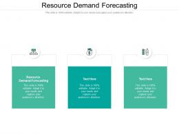 Resource Demand Forecasting Ppt Powerpoint Presentation Slides Topics Cpb