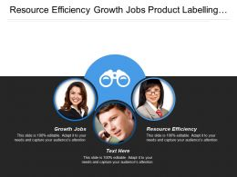 Resource Efficiency Growth Jobs Product Labelling Market Communication