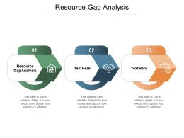 Resource Gap Analysis Ppt Powerpoint Presentation Styles Slide Portrait Cpb