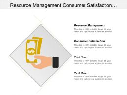 Resource Management Consumer Satisfaction Surveys Human Resource Development Cpb