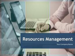 Resource Management PowerPoint Presentation Slides