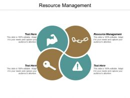 Resource Management Ppt Powerpoint Presentation Slides Graphics Cpb