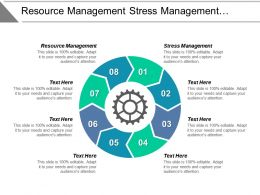 Resource Management Stress Management Process Improvement Purchase Management Cpb