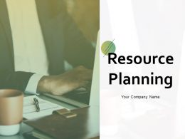 Resource Planning Powerpoint Presentation Slides