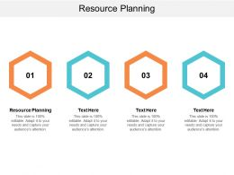 Resource Planning Ppt Powerpoint Presentation Ideas Styles Cpb