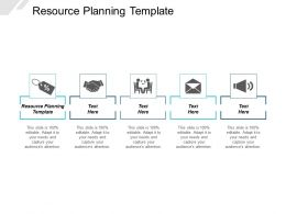 Resource Planning Template Ppt Powerpoint Presentation Layouts Graphics Design Cpb