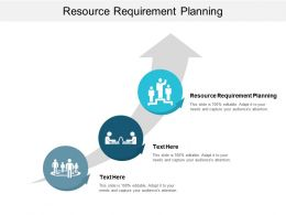 Resource Requirement Planning Ppt Powerpoint Presentation Ideas Show Cpb