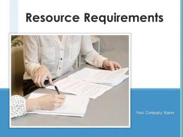 Resource Requirements Technical Requirements Assumptions Management Worksheet Analysis