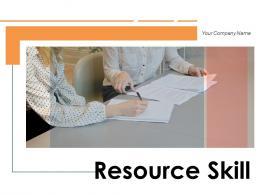 Resource Skill Framework Management Communication Teamwork Business
