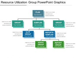 Resource Utilization Group Powerpoint Graphics