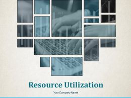 Resource Utilization Powerpoint Presentation Slides