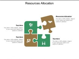 Resources Allocation Ppt Powerpoint Presentation Show Format Ideas Cpb