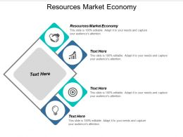 Resources Market Economy Ppt Powerpoint Presentation Infographic Template Cpb