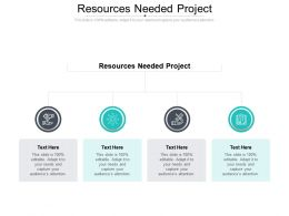 Resources Needed Project Ppt Powerpoint Presentation Pictures Model Cpb