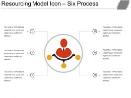 resourcing_model_icon_six_process_ppt_images_gallery_Slide01