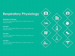 Respiratory Physiology Ppt Powerpoint Presentation Gallery Graphics Tutorials