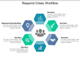 Respond Crises Workflow Ppt Powerpoint Presentation Ideas Pictures Cpb