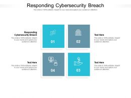 Responding Cybersecurity Breach Ppt Powerpoint Presentation Outline Slide Portrait
