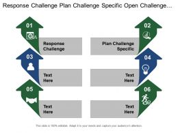 Response Challenge Plan Challenge Specific Open Challenge Screen Responses