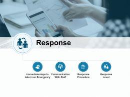 Response Communication Checklist Ppt Powerpoint Presentation Gallery Slides