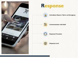 Response Communication Procedure E84 Ppt Powerpoint Presentation Inspiration Outline