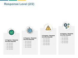 Response Level Activities Ppt Powerpoint Presentation Gallery Ideas