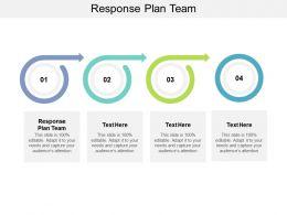 Response Plan Team Ppt Powerpoint Presentation Slides Brochure Cpb