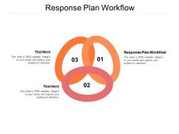 Response Plan Workflow Ppt Powerpoint Presentation Infographic Template Portfolio Cpb