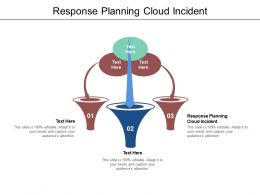 Response Planning Cloud Incident Ppt Powerpoint Show Layout Ideas Cpb