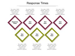 Response Times Ppt Powerpoint Presentation Icon Cpb