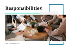 Responsibilities Business Analyst Requirements Planning Management