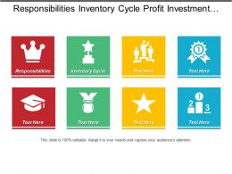 Responsibilities Inventory Cycle Profit Investment Sales Marketing Plan