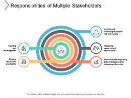 Responsibilities Of Multiple Stakeholders
