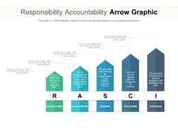 Responsibility Accountability Arrow Graphic