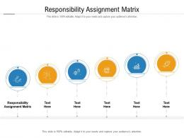 Responsibility Assignment Matrix Ppt Powerpoint Presentation Infographic Cpb