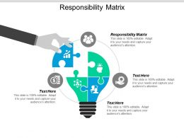 Responsibility Matrix Ppt Powerpoint Presentation Model Themes Cpb