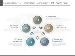 Responsibility Of Information Technology Ppt Powerpoint